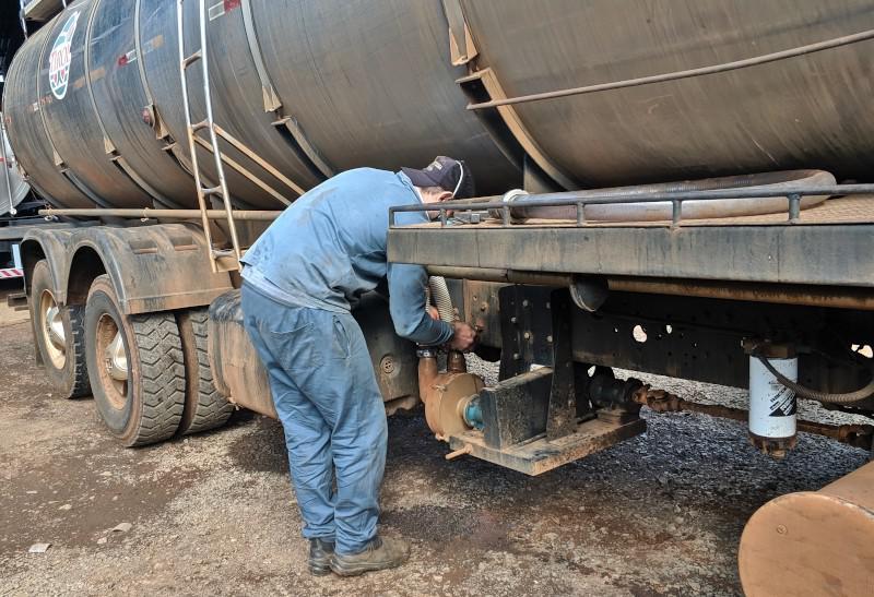 Manutenção de tanques