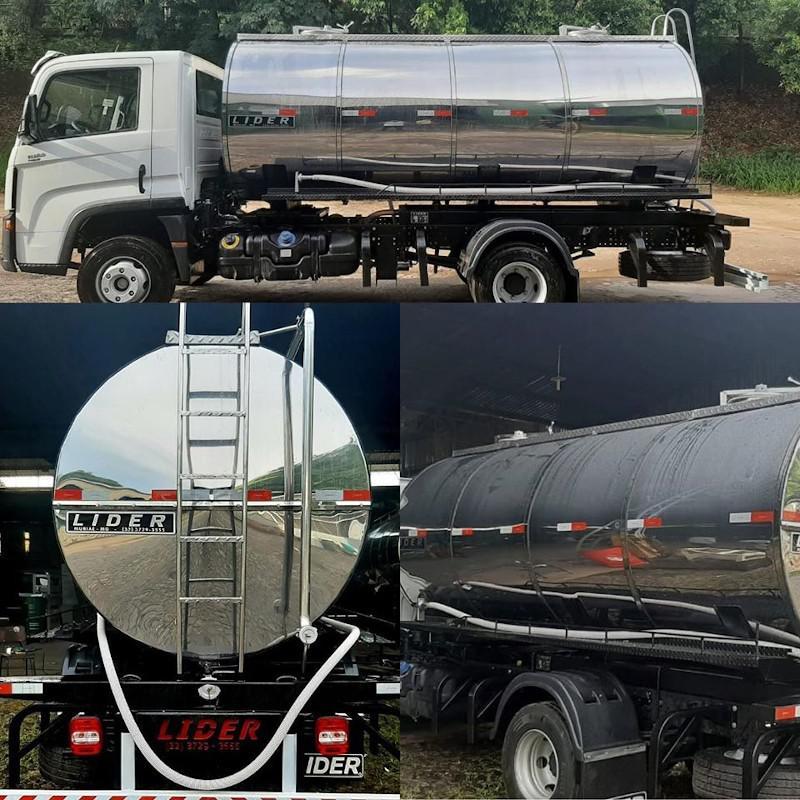 Tanques isotermicos para transporte de leite