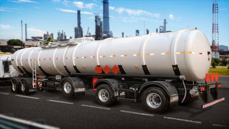 Semireboque quimicos- Aço carbono