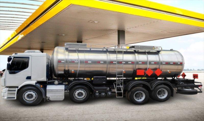 Tanque Sobre Chassi Químicos - Aço Inox