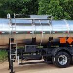 Semi reboque tanque inox