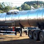 Tanque para transporte de oleo vegetal