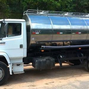 Tanque para transporte de leite